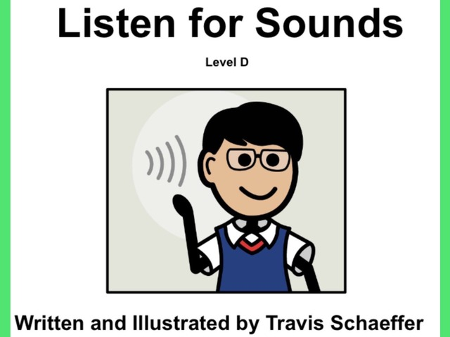January Unique Unit Supplemental Reading:Listen For Sounds by Tanya Folmsbee