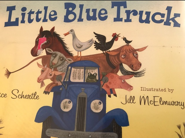 Little Blue Truck by Lori Board