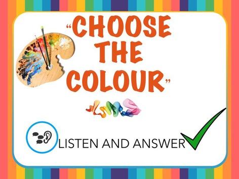 Choose the Colour  by Lisa Gazzotti