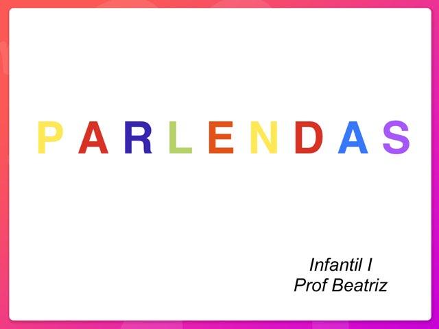 ATIVIDADE DE PARLENDAS by Pueri digital verbo divino
