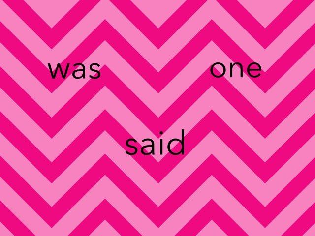 Trick Words Week 5 by Lorene Himpelmann