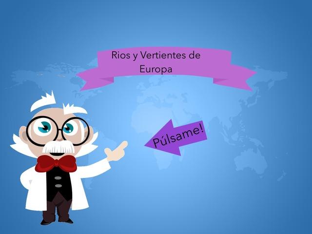 Rios Y Vertientes De Europa by Valeria Polo