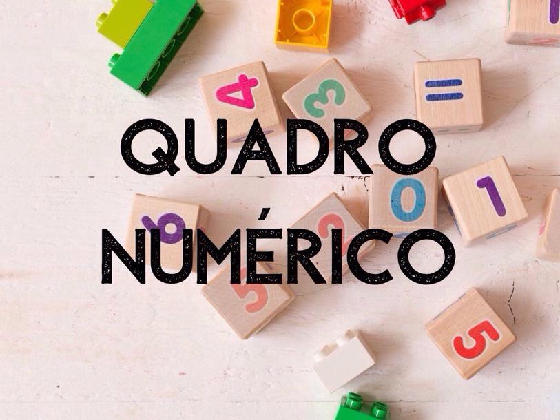 Quadro Numérico  by Ananda Cecília Falbo De Proença