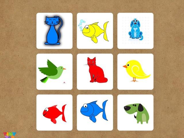 Kırmızı Balık Mavi Kedi by Hadi  Oyna