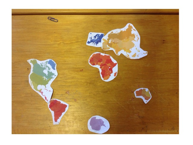 The 7 continents  by Craig Miller