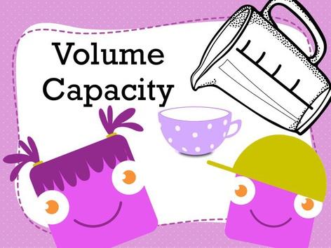 Volume, Capacity  by Jennifer Sanders
