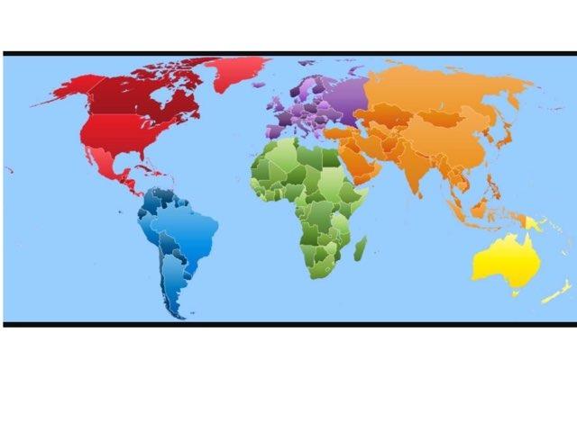 خريطة العالم by زينب فهد