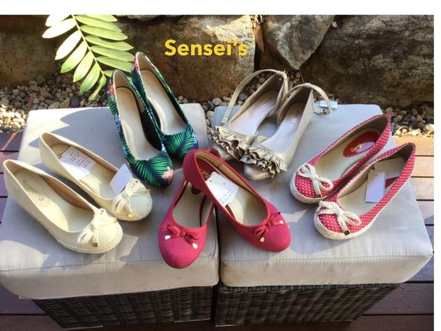 Sensei's Shoes by Kim Bullen