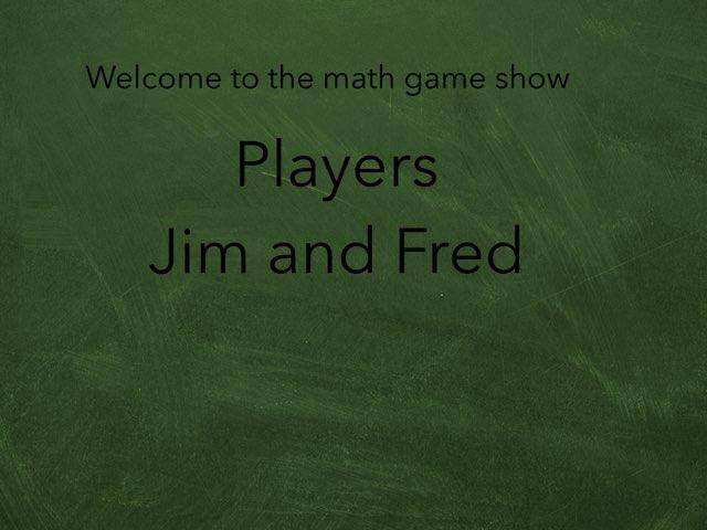 Math Game Show by Estrellita Garcia