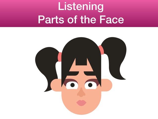 Parts of the Face - Listening by Teeny Tiny TEFL