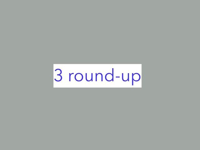 Round-up 3  by noorwahab