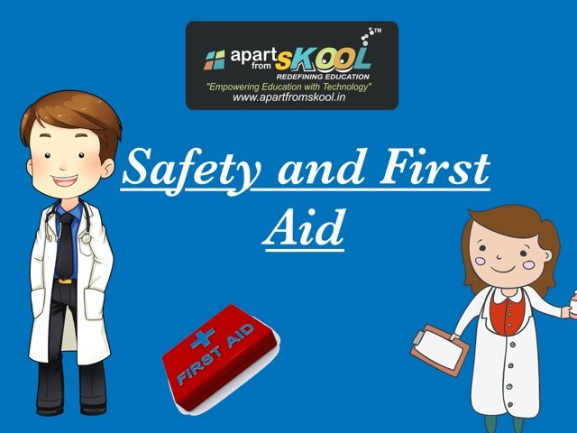Safety And First Aid by TinyTap creator