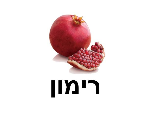 רימון by Beit Issie Shapiro