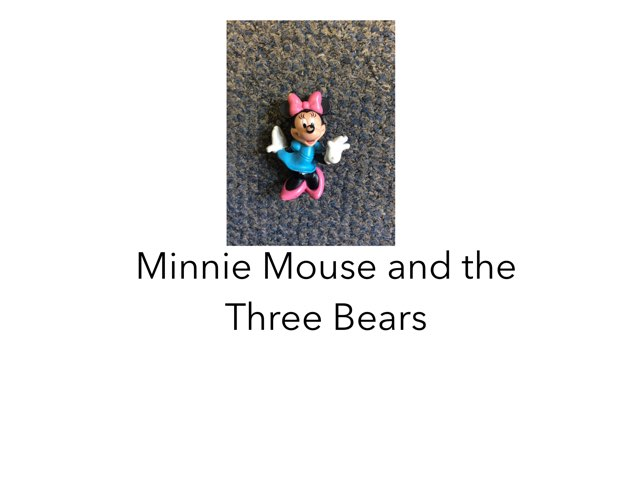 Minnie And The Three Bears by Joy Wilson