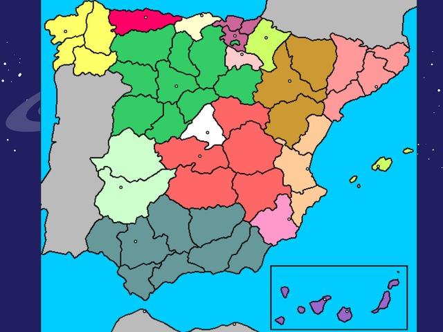 Provincias España by raquel castellano