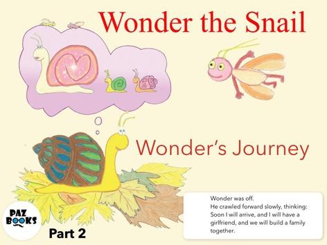 Wonder The Snail- Part 2 by Liat Bitton-Paz