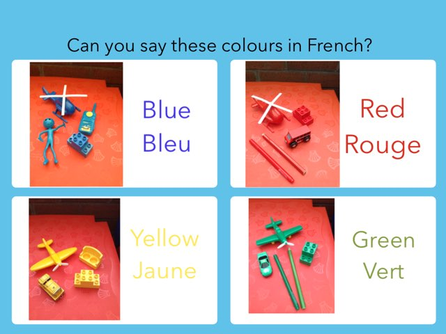 Colours In French by Margaret Lonsdale