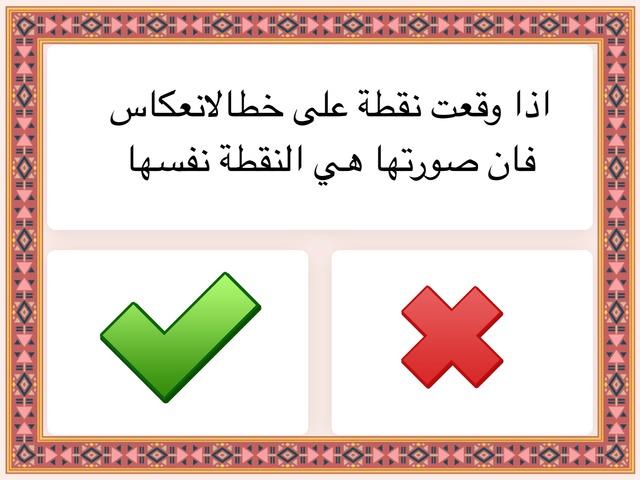 الانعكاس by Math 1438