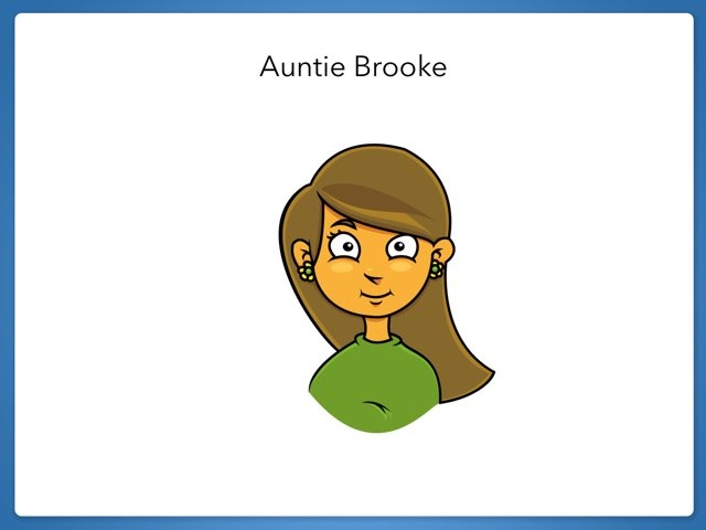 Auntie Brooke  by Alisa Campbell