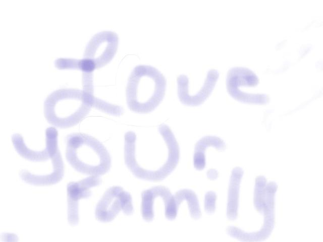 Love Your Family by Bing Serojë-Chëong