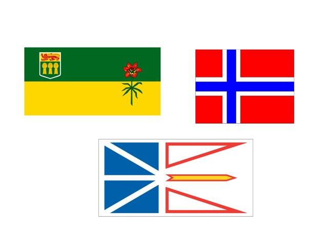 Flag Of Saskatchewan  by 3NM iPad
