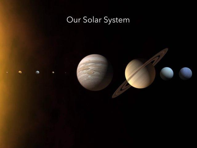 Our Solar System by Mr Shennan