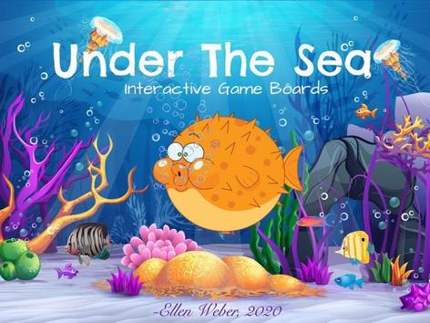 Under The Sea Game Boards by Ellen Weber