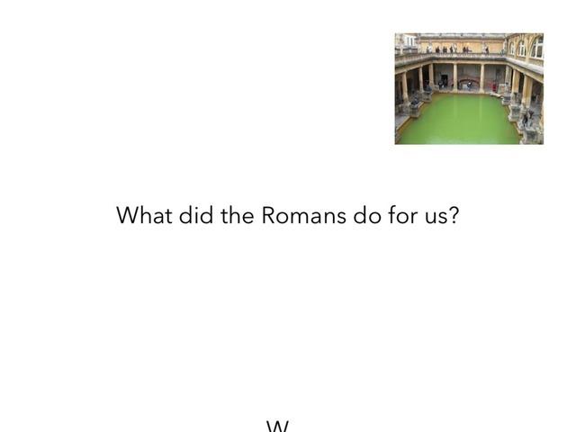 Romans by Mr Bennett