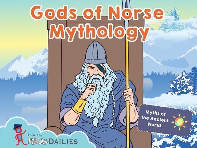 Gods Of Norse Mythology by Kids Dailies