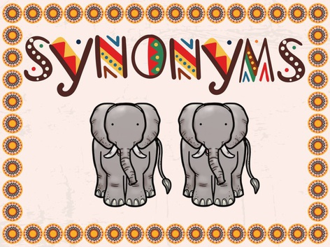 Synonyms by Karen Souter