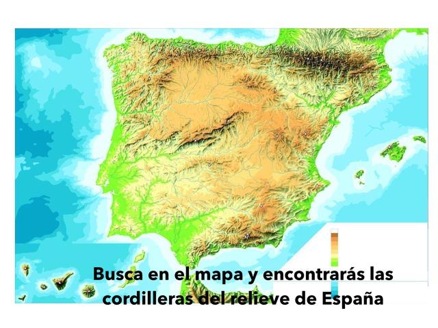 El relieve de España by CRA LAS CAÑADAS Aguilafuente