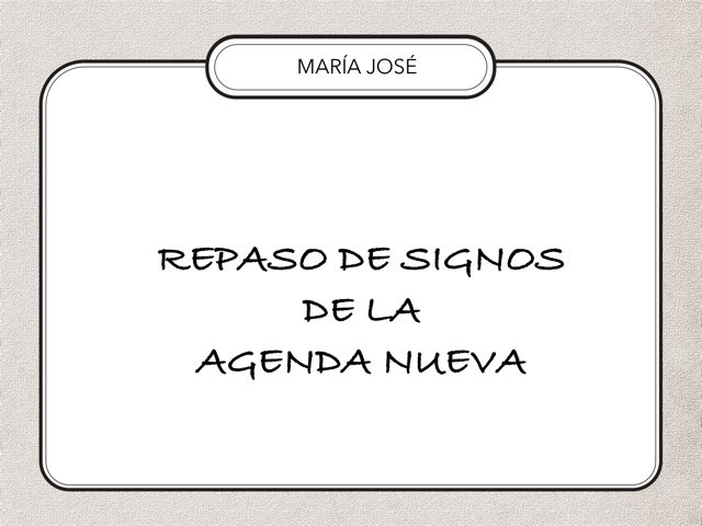 Signos Agenda Nueva-MJ by Zoila Masaveu
