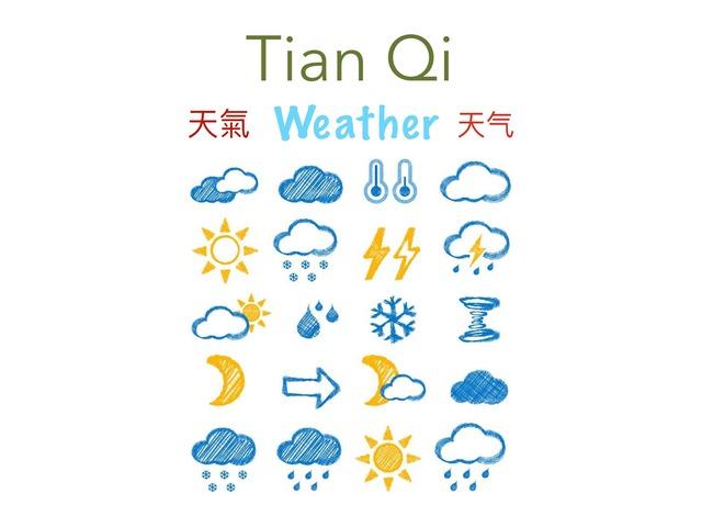 Weather In Mandarin by Carina Sheppard