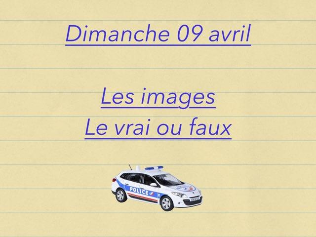 M - Dim09 - Images Et Vrai Faux  by Caroline Gozdek