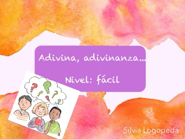 Adivinanzas Fáciles by Silvia Romanillos
