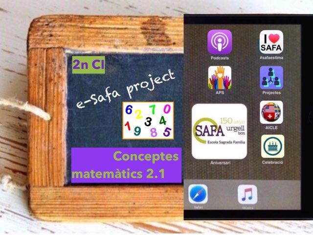Matemàtiques Conceptes 2.1. by IE Londres c/urgell
