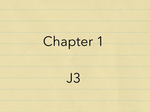 1_chapter 1_J3 by Mei Lam Chan