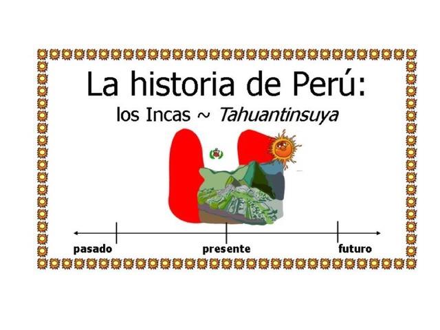 Cloze: La historia de Perú by Allison Shuda