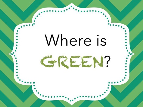 Where is Green? by Michelle Cabalo