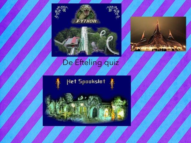 65 jaar Efteling quiz by Astrid