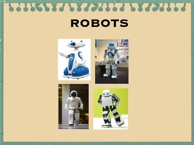 Robots by Amber Pecceu