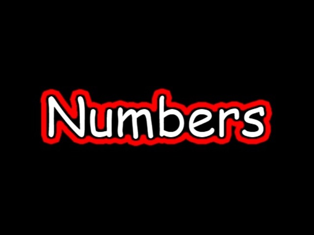 Numbers by Ally T