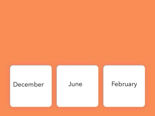 Months by Fenn Banks