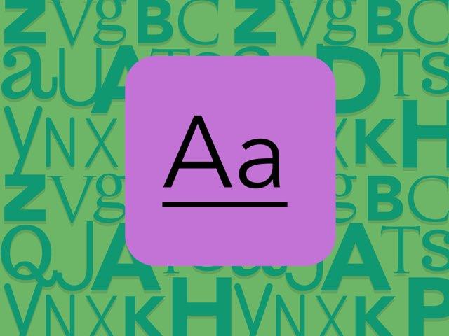 Alphabet A by Animal Lover