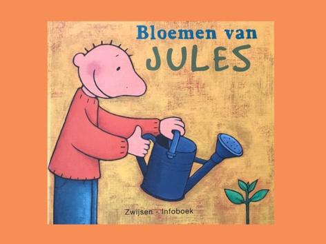 De Bloemen Van Jules . by Nancy van fleteren