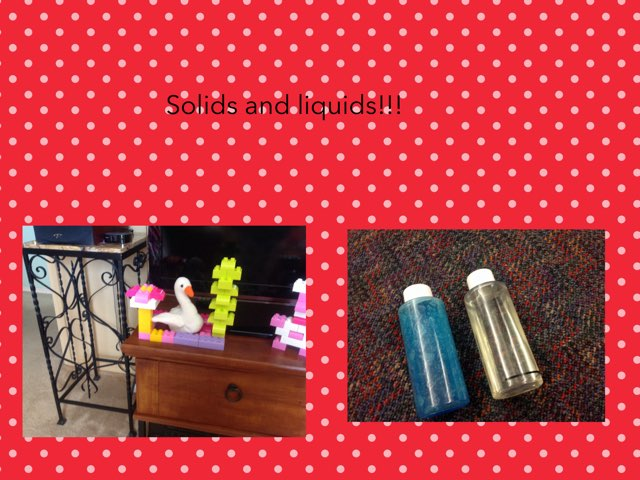 Solids And liquids by Hulstrom 1st Grade