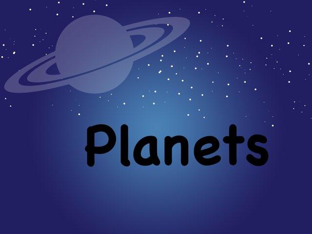 Planets by Vanshika Pallerla