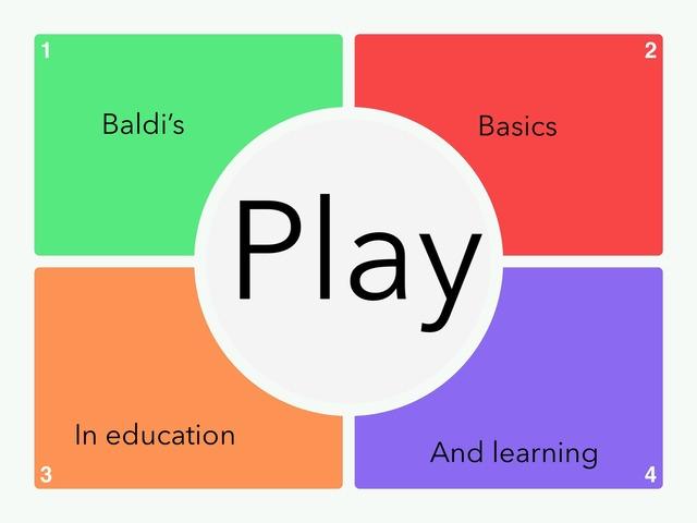 Baldi's Basics by Fandroid GAME!