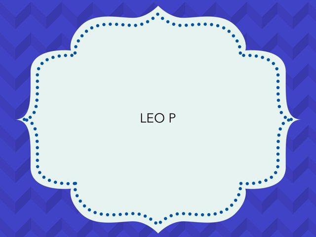 LEO P by LAURA PARDO