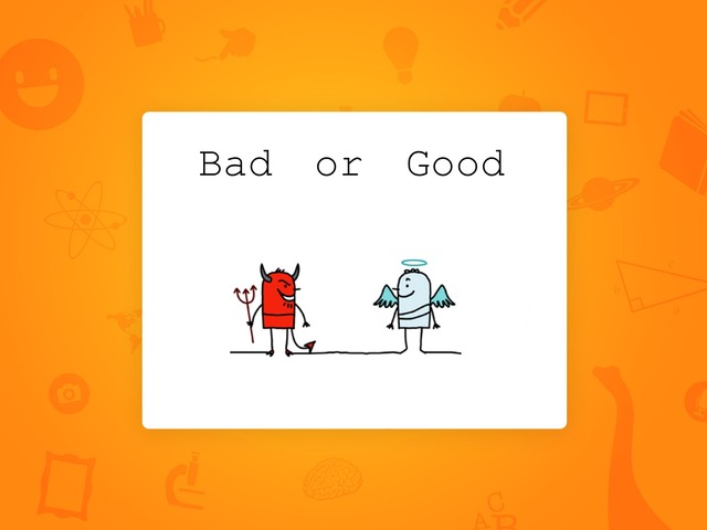 Bad Or Good by Jho Pedrabuena